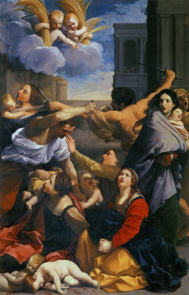 Le massacre des Saints innocents le 28 décembre…