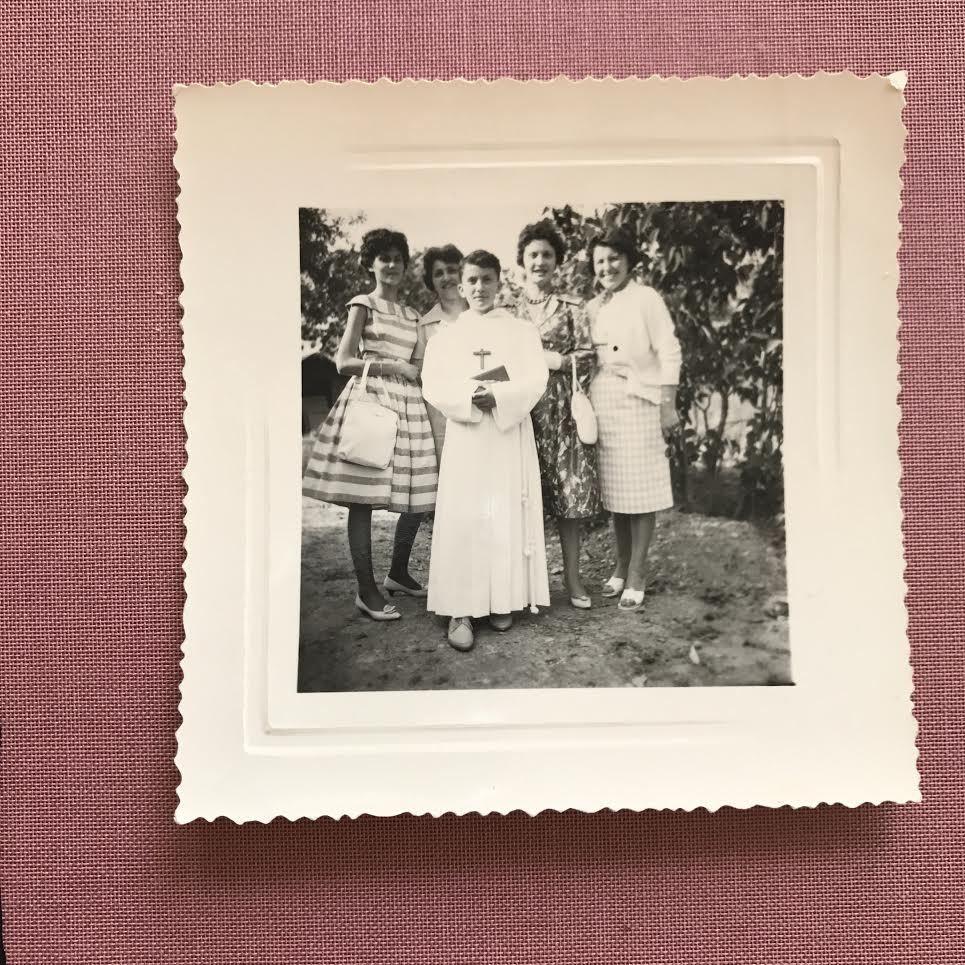 Le menu de ma Communion solennelle le 5 juin 1960 à la Mothe-Achard