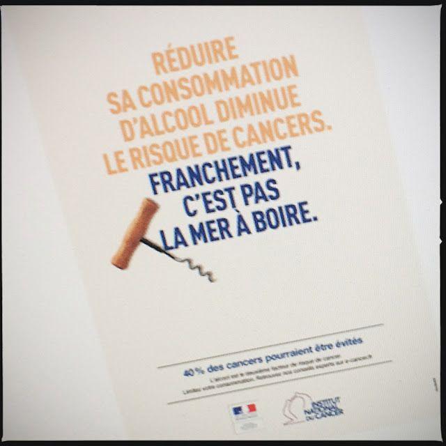 C'est reparti comme en 14, la nouvelle campagne de prévention du cancer de madame Buzyn énerve «l'ivrogne » du vin…