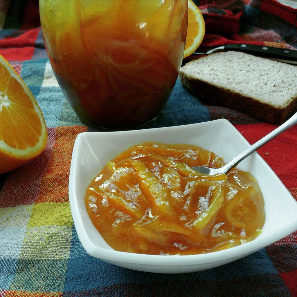 confiture ecorces d'oranges