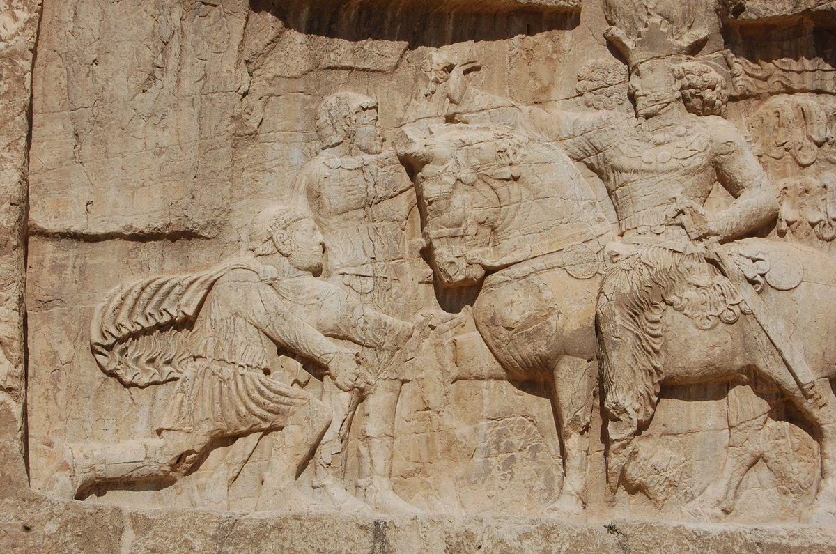Naqsh-e Rostam - Bas-reliefs - Iran - Photos: Lankaart (c)