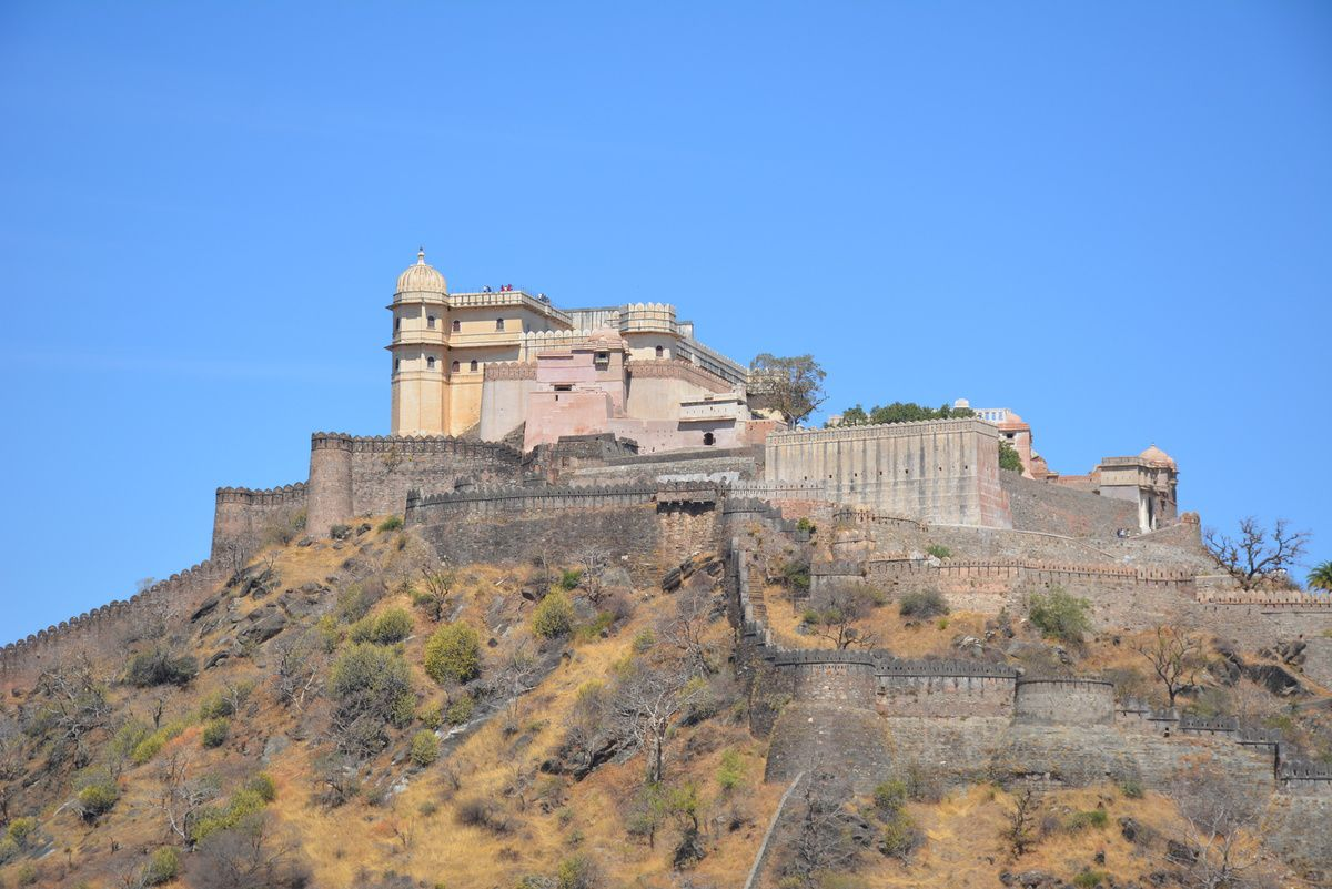 Fort de Kumbhalgarh - Photos: Lankaart (c)