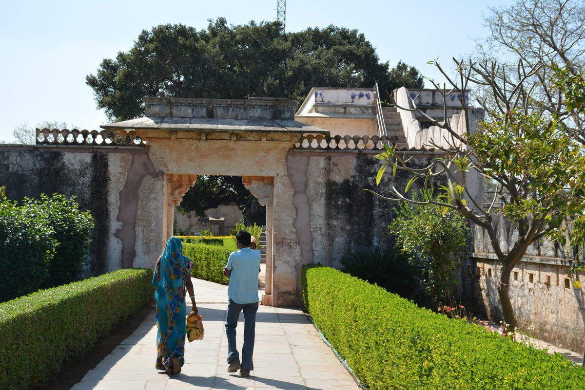 Rajasthan - Chittorgarh - Jardins - Photos: Lankaart (c)