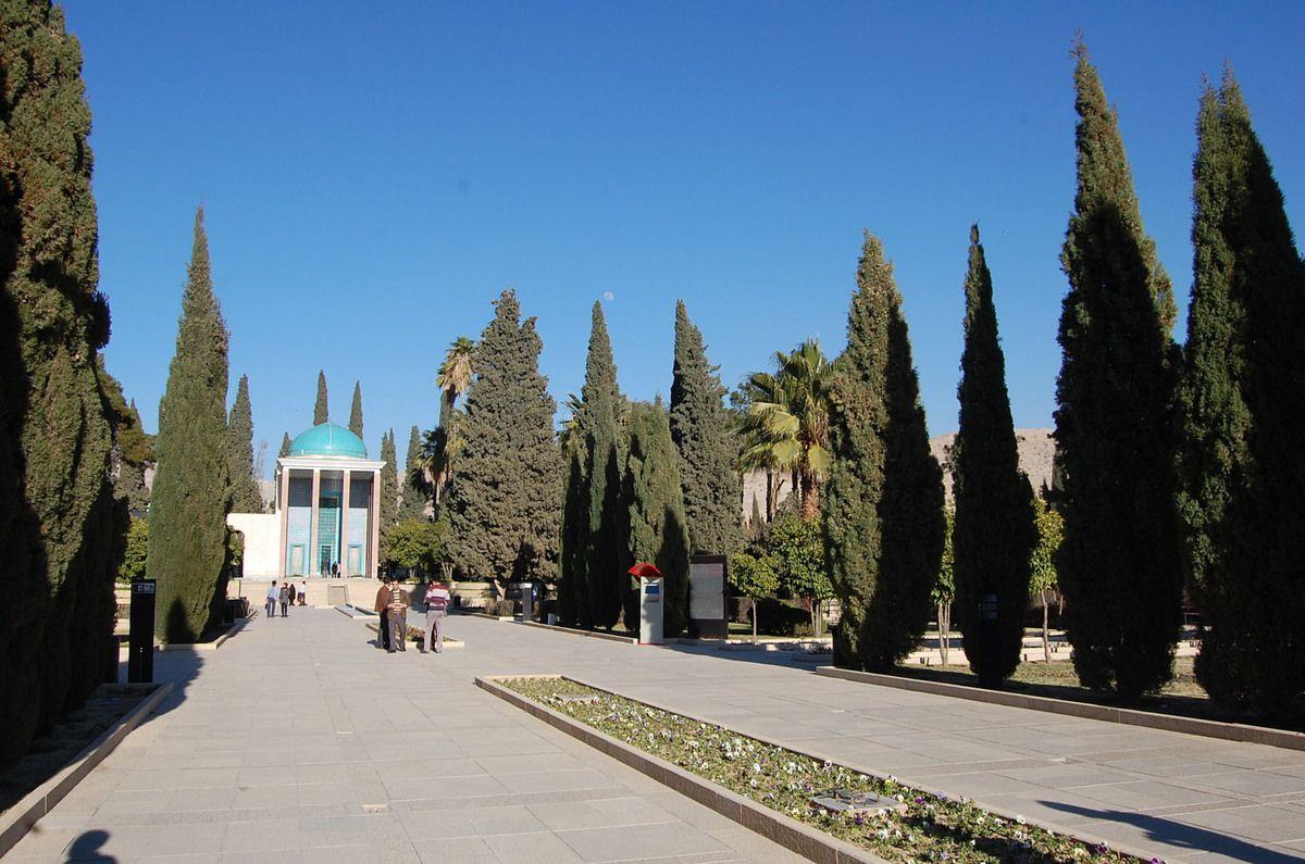 Iran - Shiraz - Jardins et mausolée de Saadi - Photos: Lankaart (c)