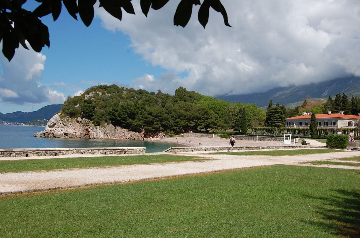 Monténégro - Jardins de la Villa Milocer - Photos: Lankaart (c)