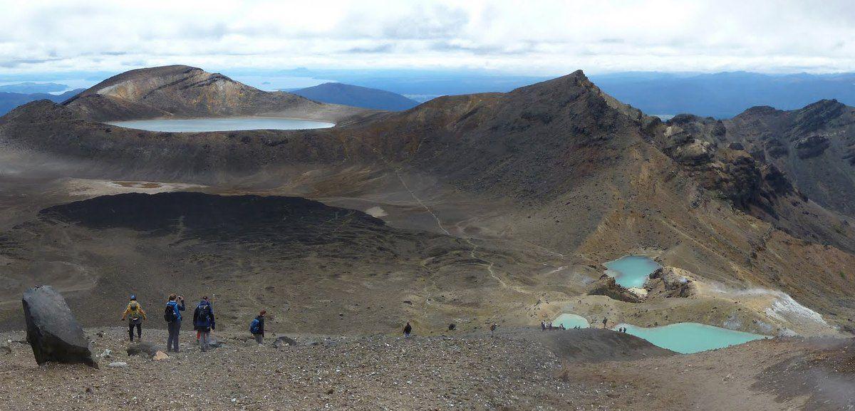 Nouvelle-Zélande - Parc du Mont Tongariro