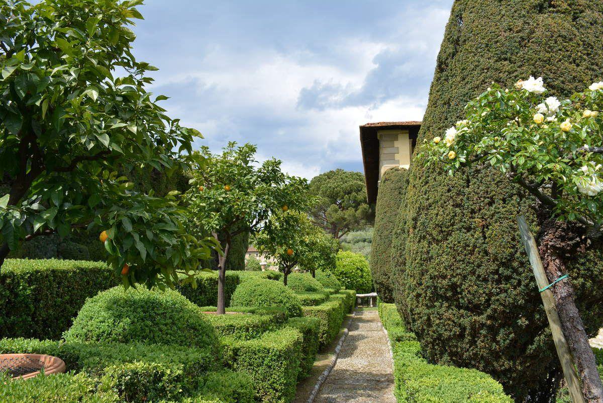 Toscane - Jardins de la Villa Gamberaia - Photos: Lankaart (c)
