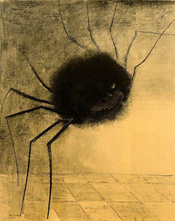 Redon - L'araignée souriante