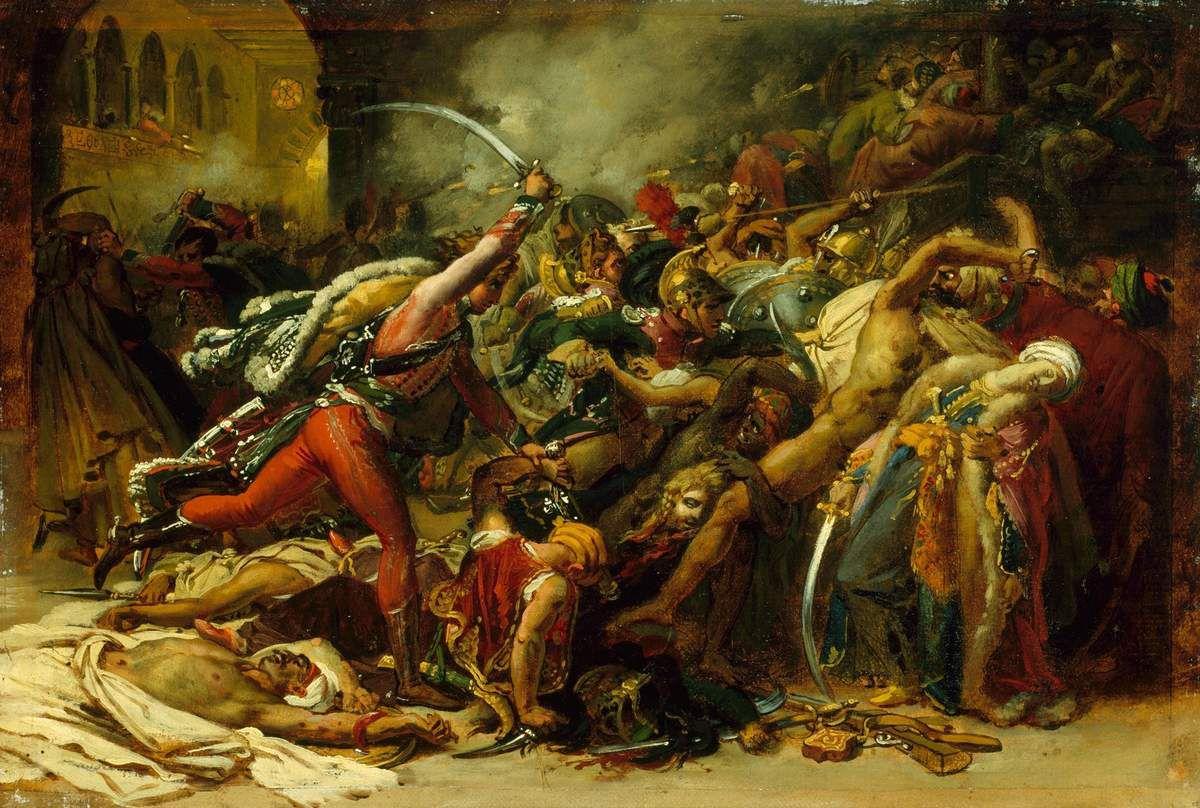 Girodet, La révolte du Caire, 1810