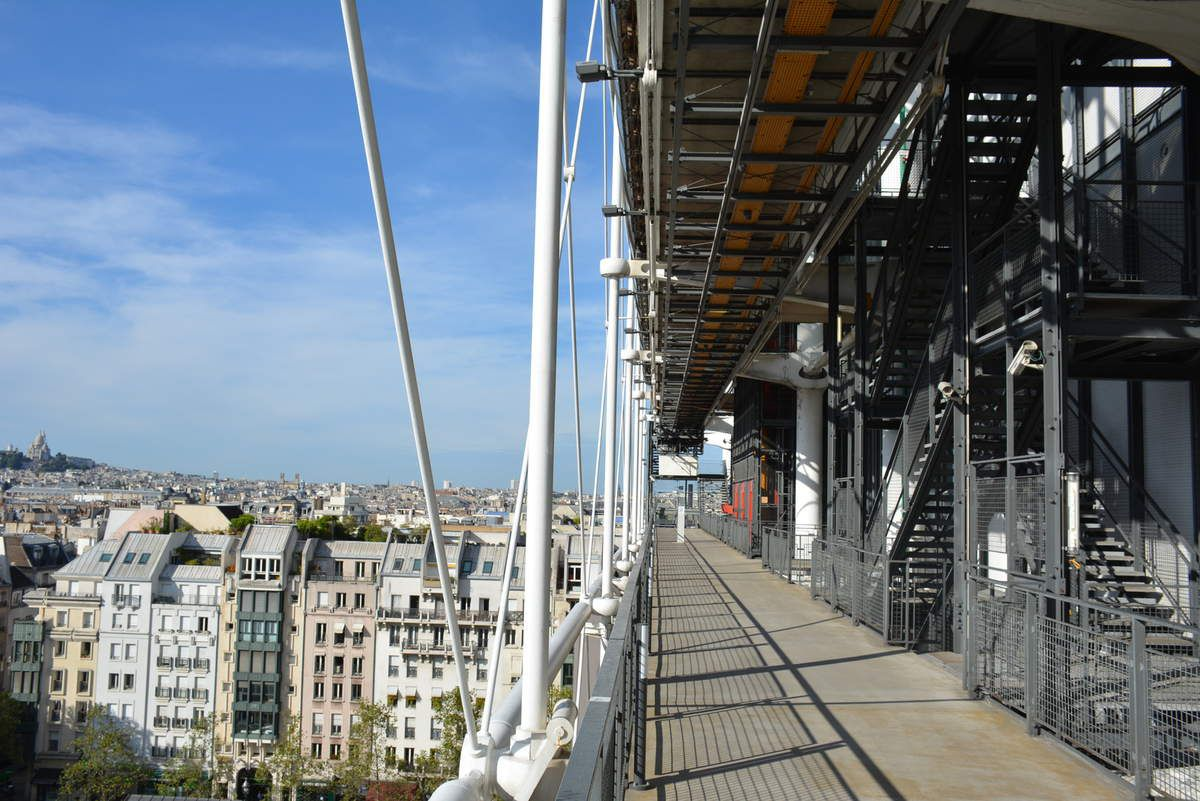 Renzo Piano et Richard Rogers - Centre Pompidou Paris - Photos: Lankaart (c)