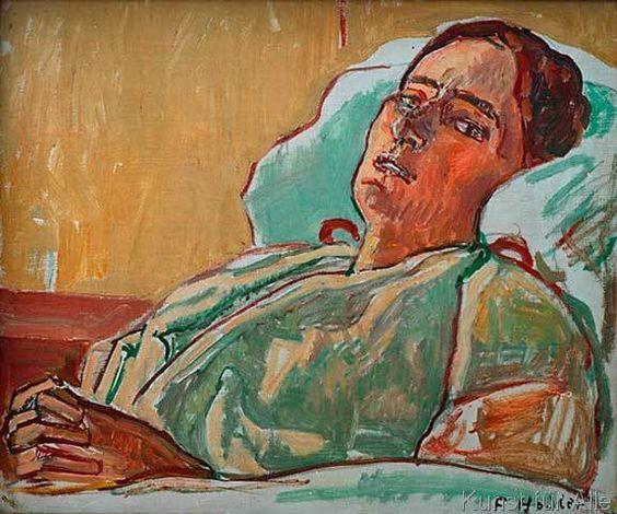 Ferdinand Hodler - Valentine