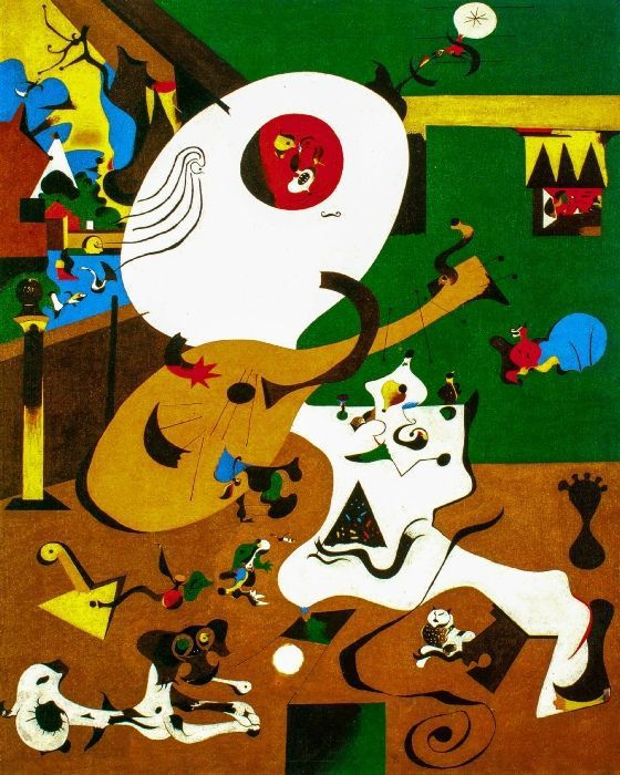 Miro int rieurs hollandais lankaart for Joan miro interieur hollandais