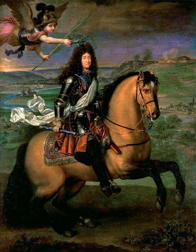 Portrait de Louis XIV au siège de Namur