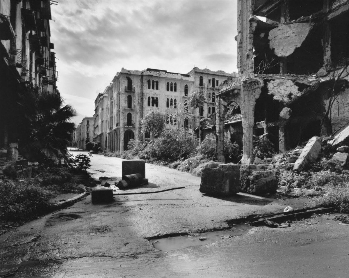 Beyrouth 1991 - Gabriele Basilico