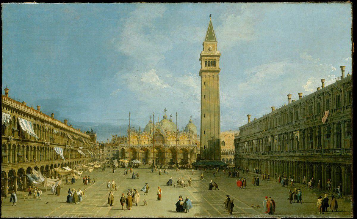 Canaletto - Place Saint-Marc Venise