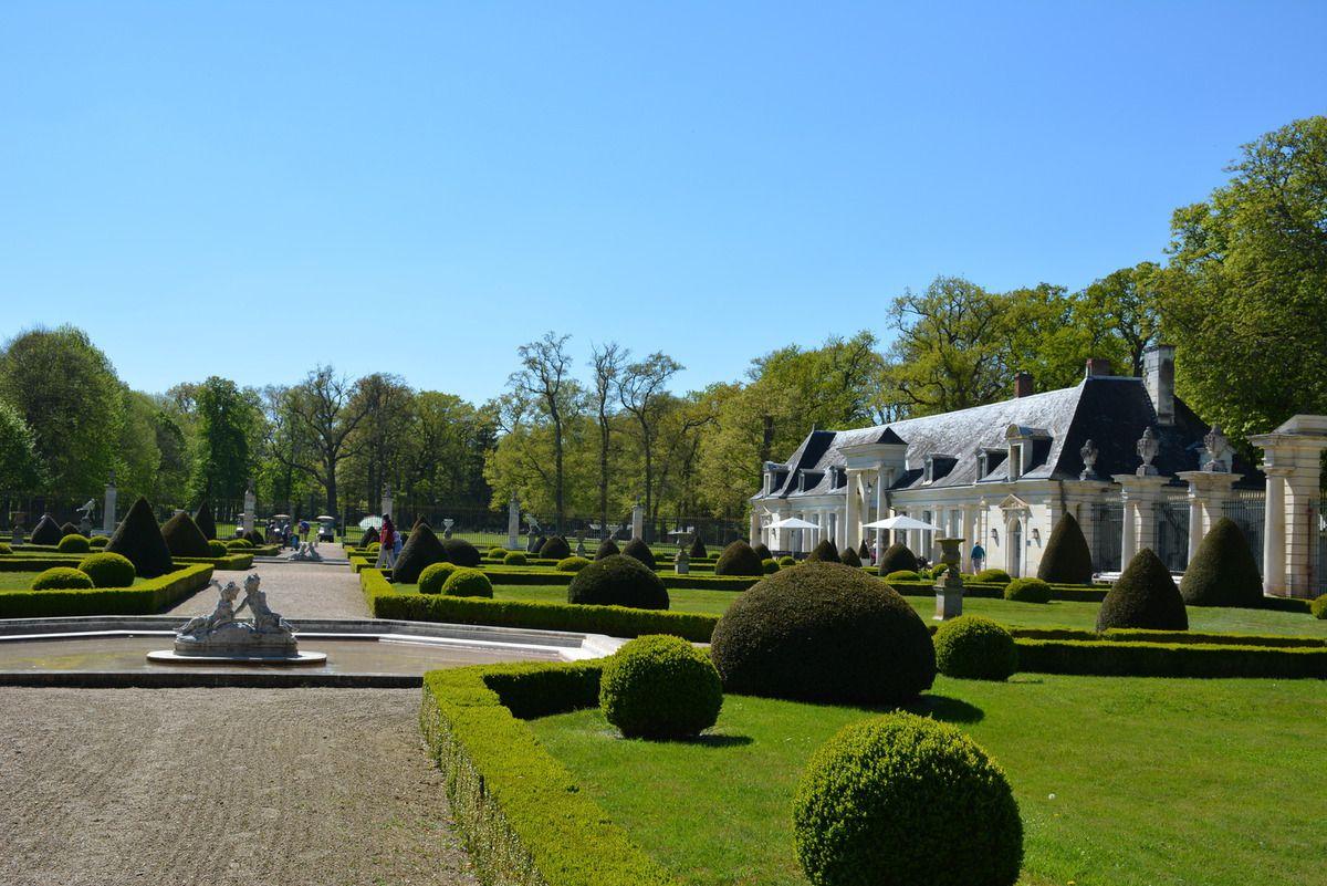 Parc et jardins du ch teau de valan ay lankaart for Parc et jardin
