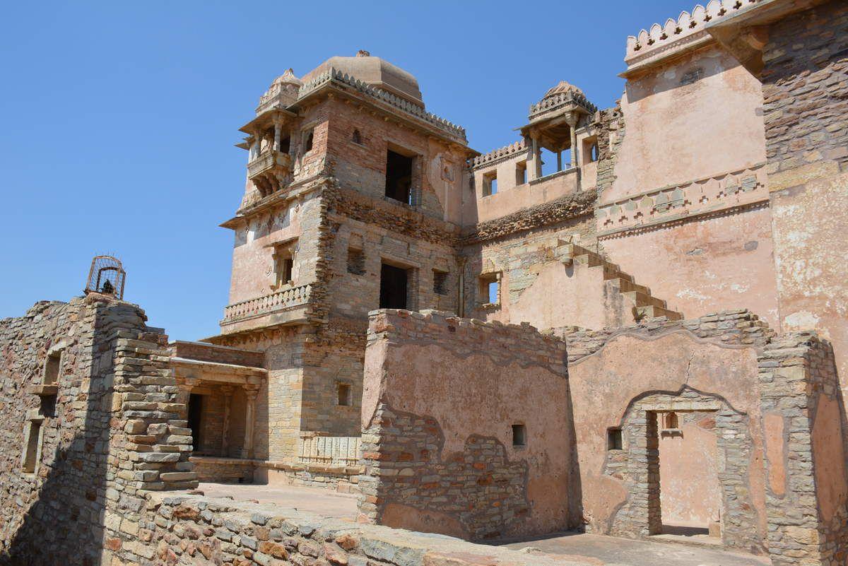 Inde - Chittogard - Palais de Rana Khumba