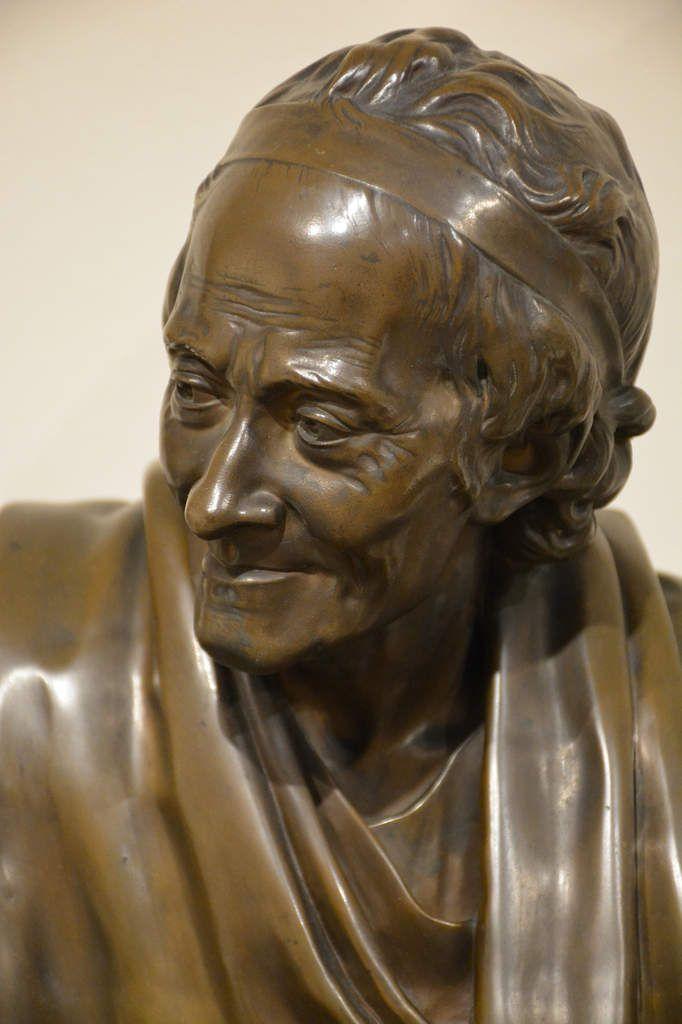 Jean-Antoine Houdon - Voltaire