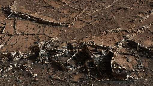 Des indices de la présence d'eau sur Mars