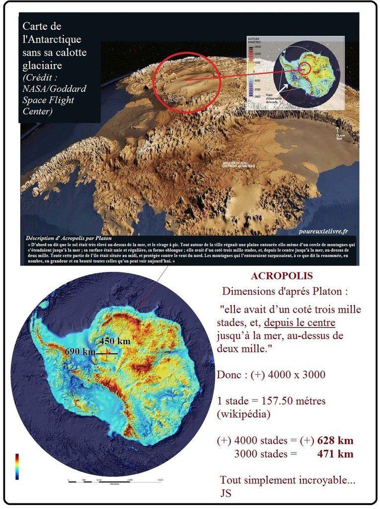 L'Atlantide localisée grâce à la pyramide de Khéops !