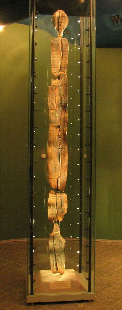L'idole de bois mystérieuse, la plus ancienne du monde...  !
