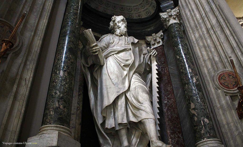 Les terribles martyrs des 12 apôtres, les pères de l'église… !