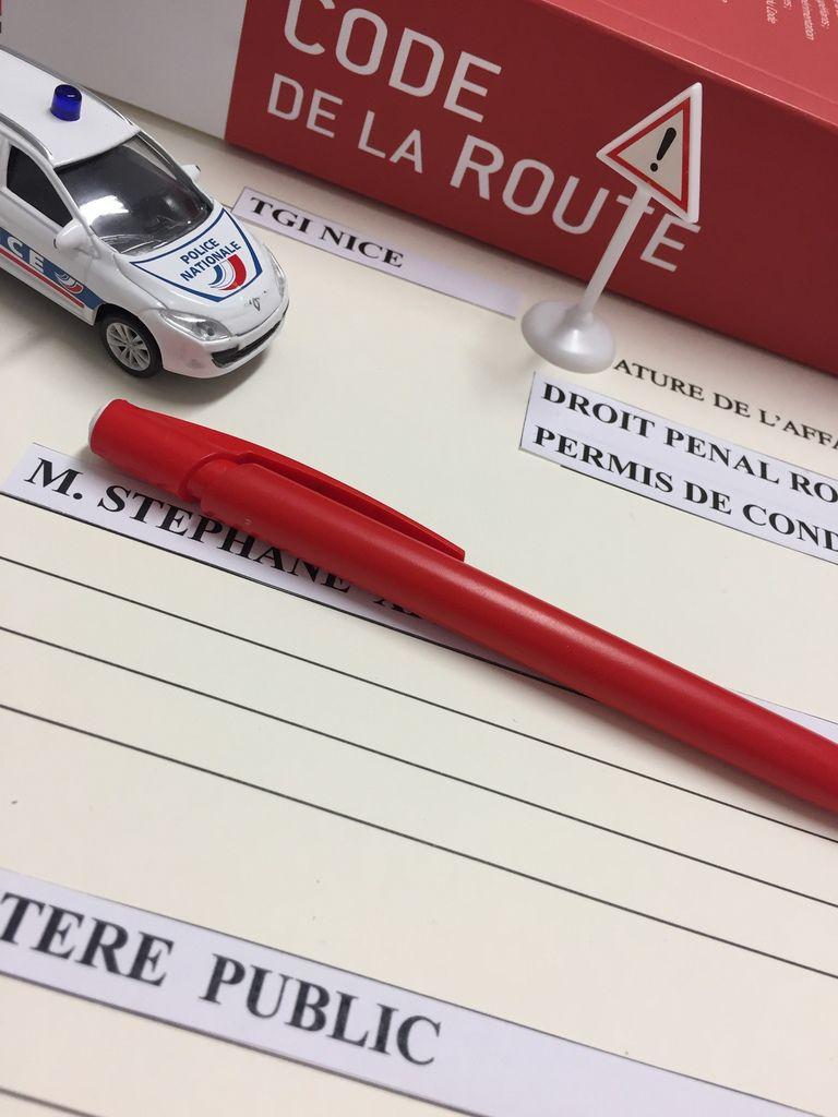Avocat permis de conduire audience pénale Nice