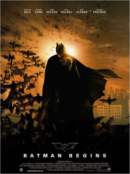 Cinéma: The dark knight rises - 8/10