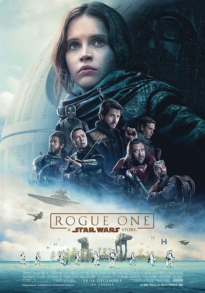 Cinéma: Rogue one, a Star Wars story - 7/10