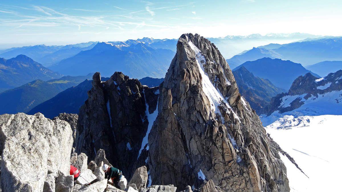 Vue sur le sommet Nord