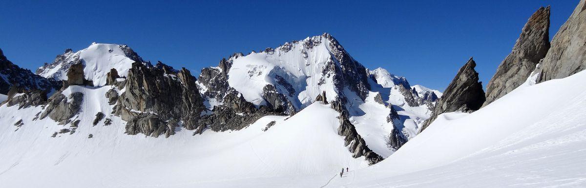 Panorama plateau du Trient