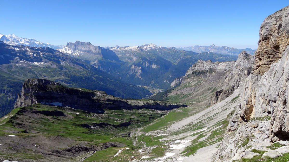 Alpage de Salvadon et Pointe Sans Bêt