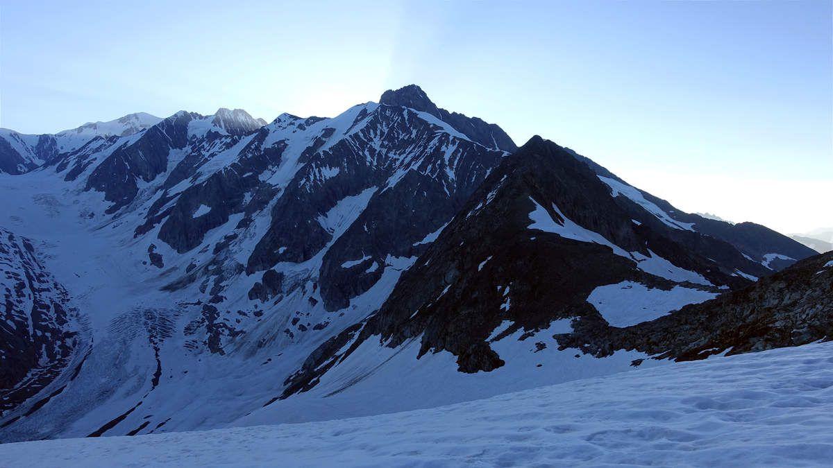 Col du Tondu qui permet de basculer coté Chappieux (itinéraire prévu initialement)