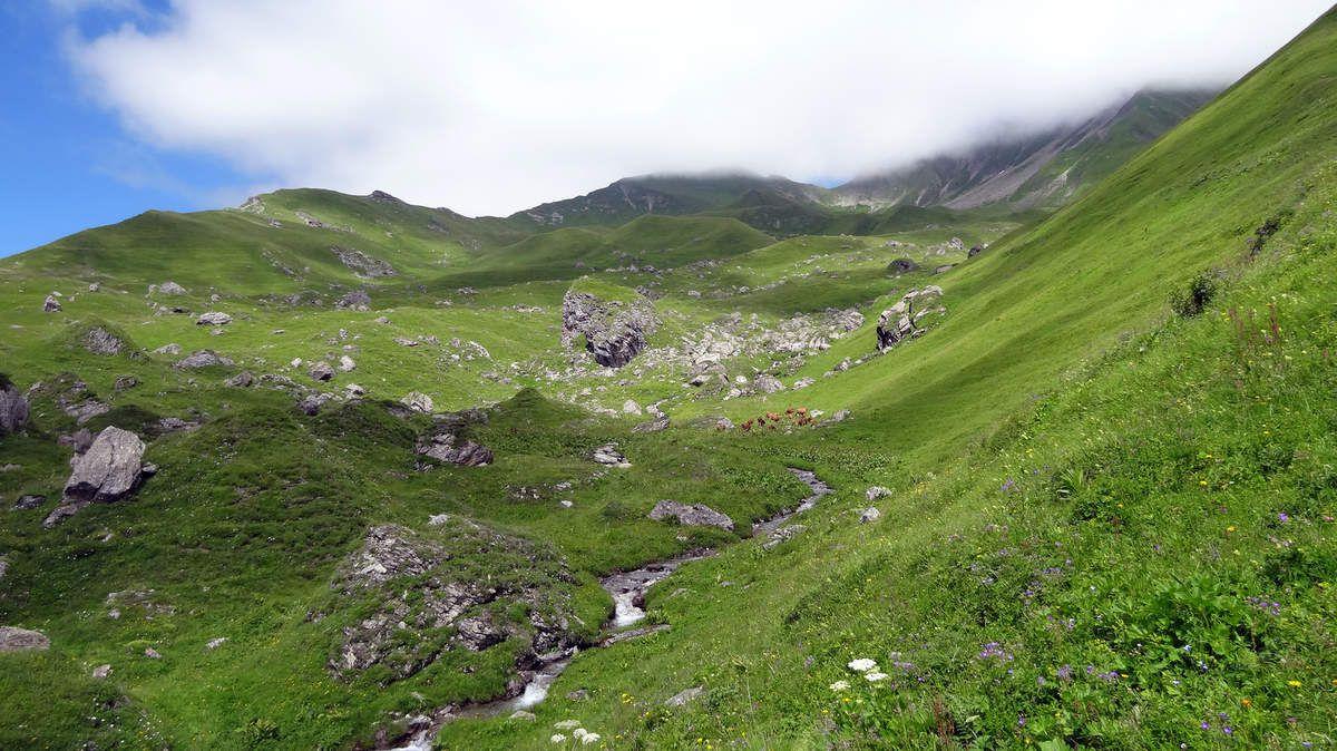 Alpage de Parozan et ses belles Tarines