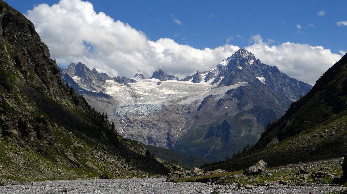 Glacier du tour, Chardonnet, Grande Fourche, Aiguille du Tour