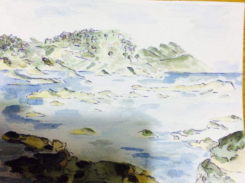 Section aquarelle