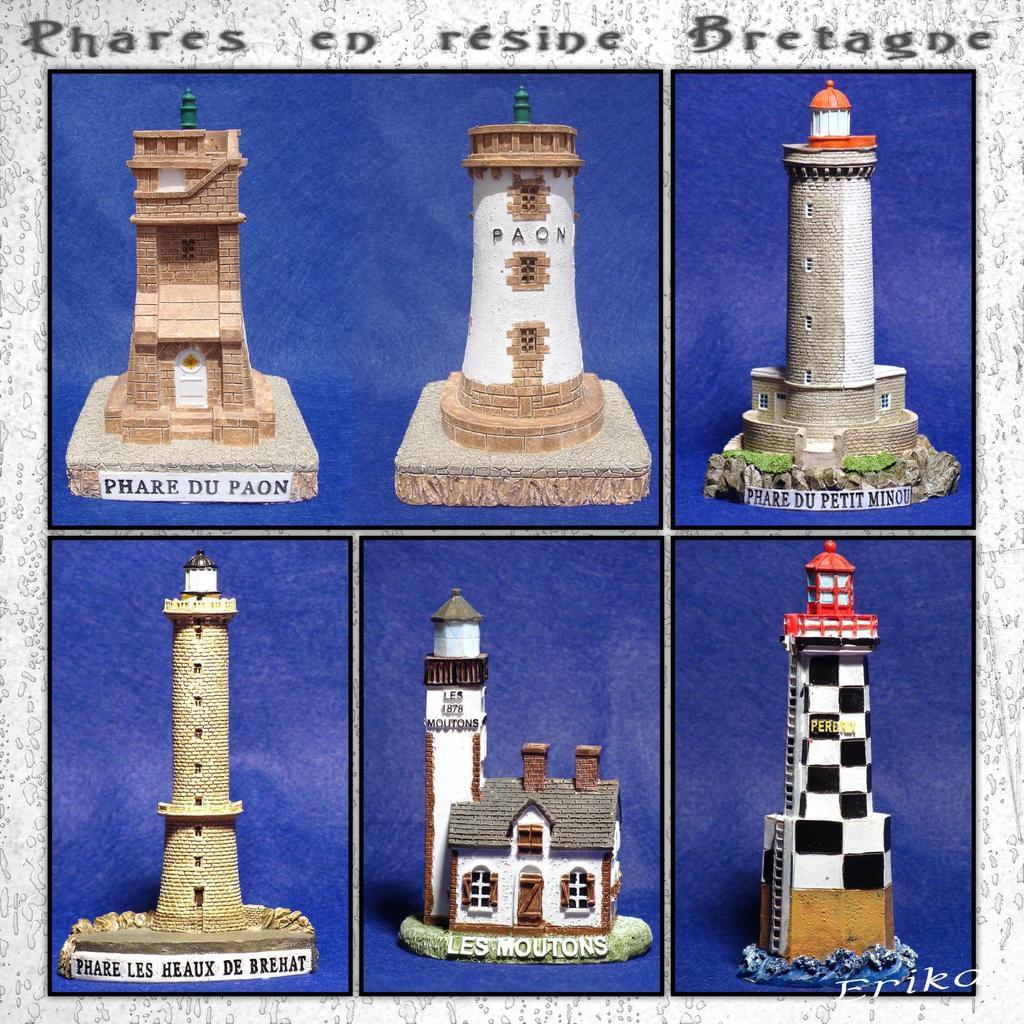 Les phares de Bretagne...