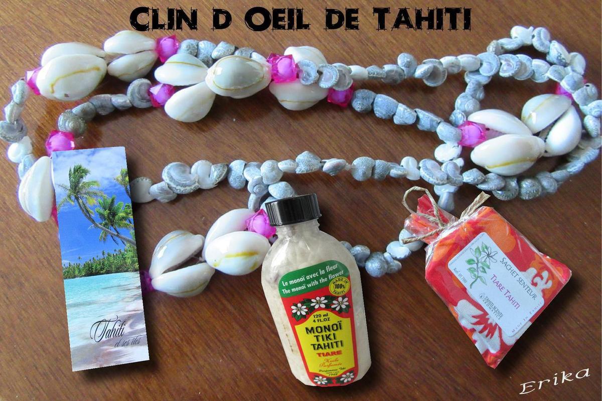 Souvenirs de Tahiti...