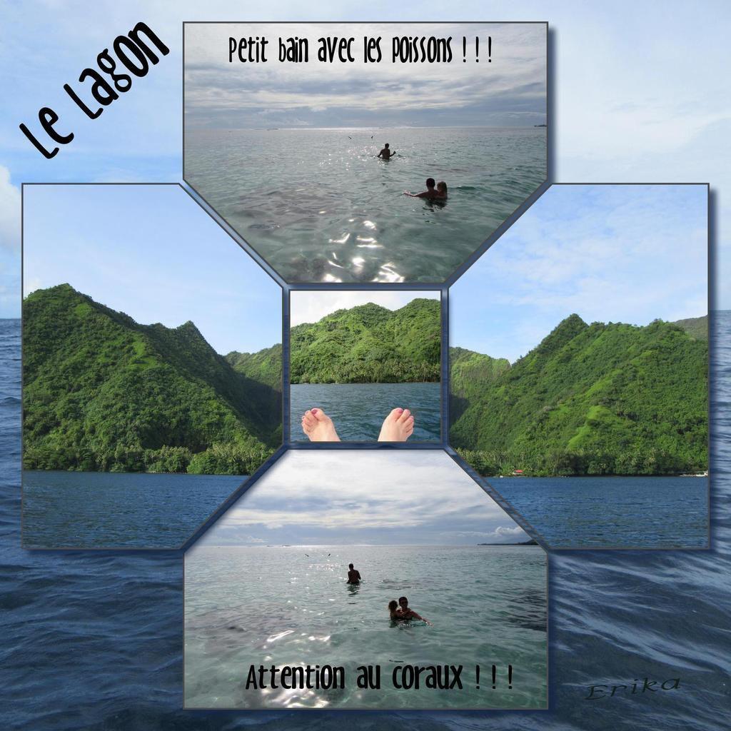 Le lagon...