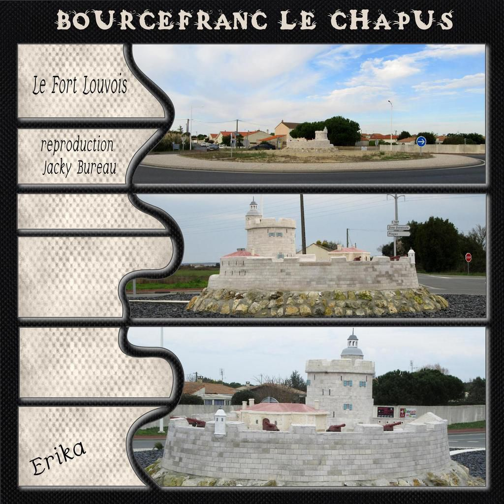 Les Ronds - points en Charente maritime...