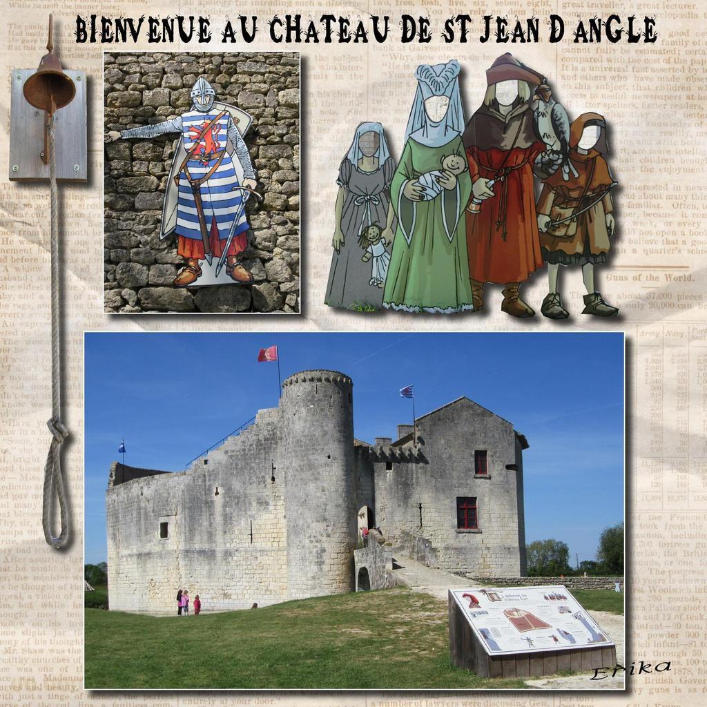 Château de St Jean d'Angle...