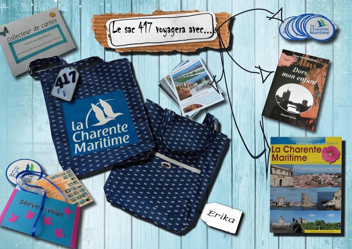 Le sac Charente Maritime n° 417 en Charente Maritime...