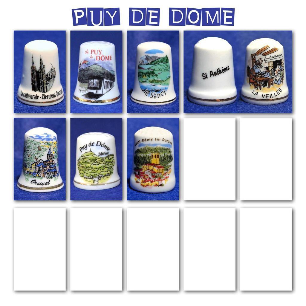 Dés à coudre...de l'Oise à l'Yonne