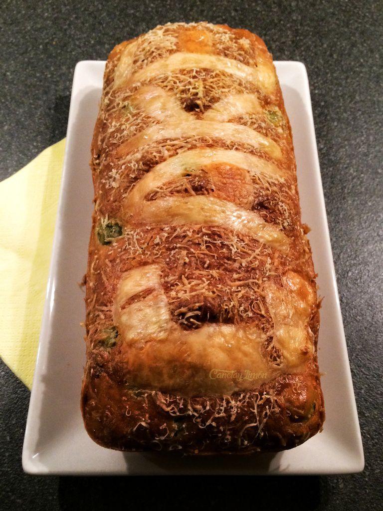 Le classique : cake aux olives et au jambon