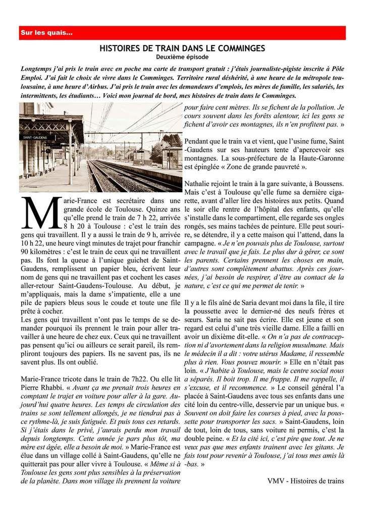 La lettre des élu(e)s communistes et républicains de la région Midi-Pyrénées Languedoc-Roussillon..  Juin 2016