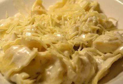 Ravioli au Boursin recette cookeo