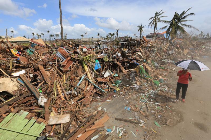 Les Philippines après le passage du super-typhon Haiyan.