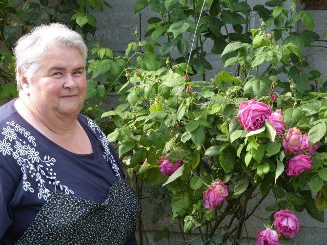 Jusqu'à cette année, Madeleine Heinrich n'avait pas conscience du trésor botanique caché dans l'exploitation familiale. Photo DNA-Simone-Wehrung