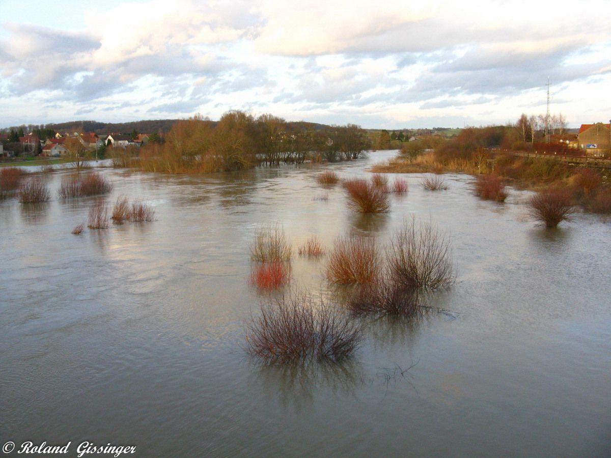 Inondation à Herbitzheim