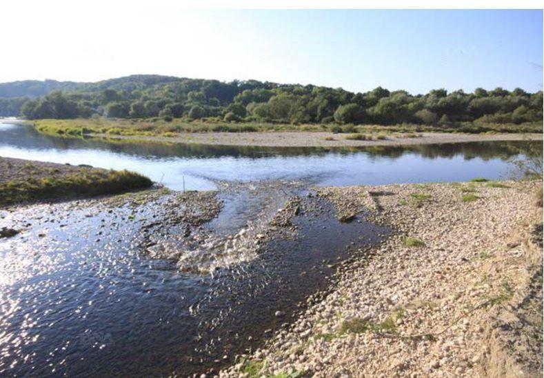 La Moselle en amont de Nancy : dans un avenir proche, le débit d'étiage estival sera plus sévère et dans la durée. Photo Patrice COSTA